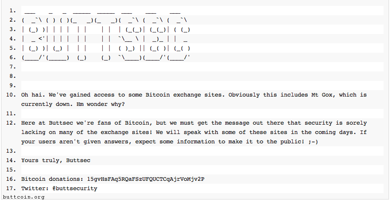 Mt. Gox, other bitcoin exchange sites hacked?