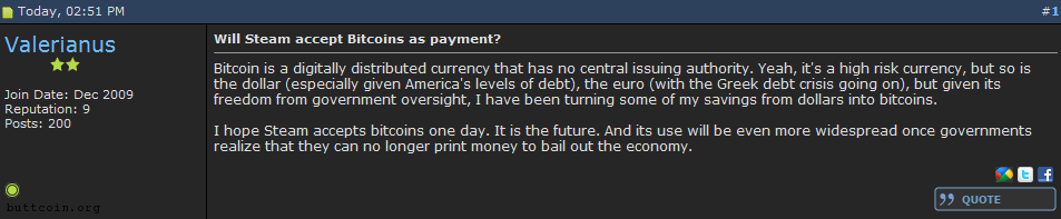 The buttcoin is a lie! (insert Portal reference here)
