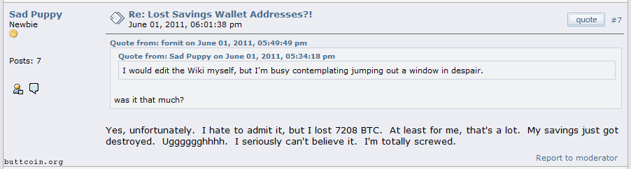 Buttcoin is a P2P currency that can be instantly deleted and lost.