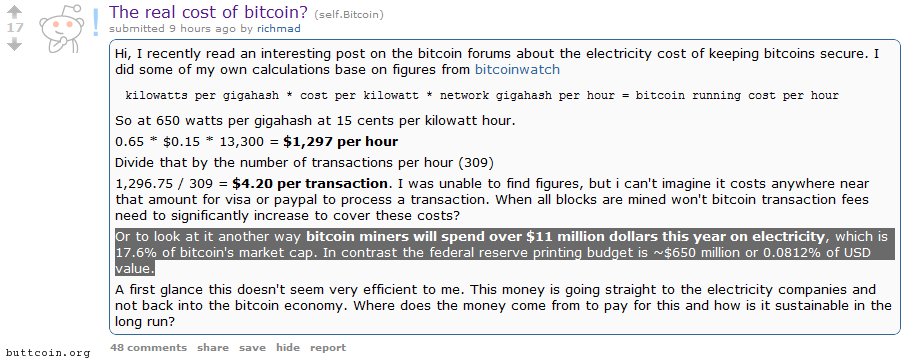 How much does bitcoin really cost? *waves hands furiously*