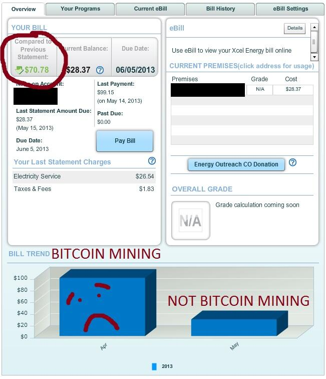 Use this one weird old tip by a single mom to save money while mining bitcoins.