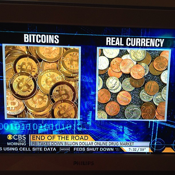Bitcoin is not a real currency