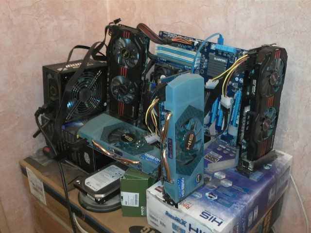 Mining Rig Megapost