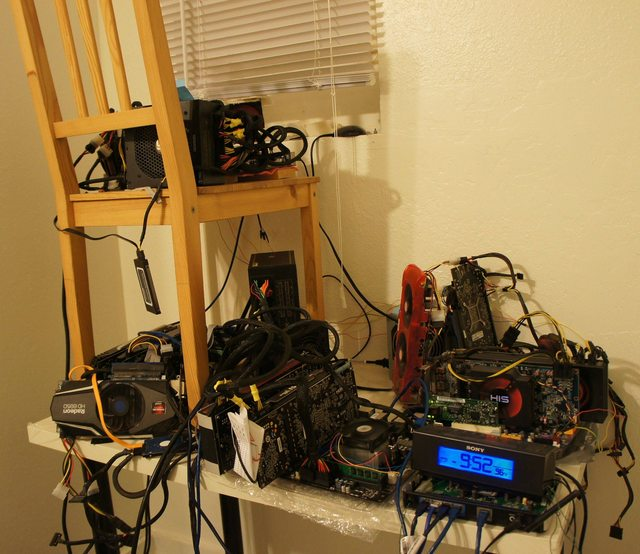 Some Of These May Be Repeats But Here Is The Buttcoin Foundations Entire Collection Amazing Mining Rigs Read More