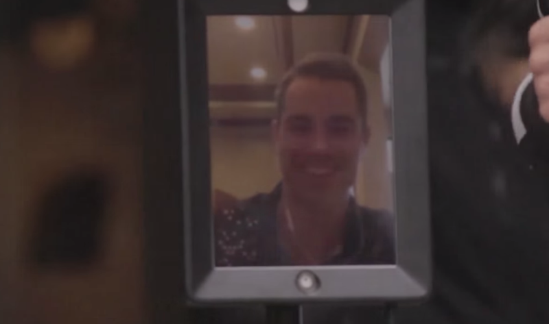 Roger Ver's head on a stick